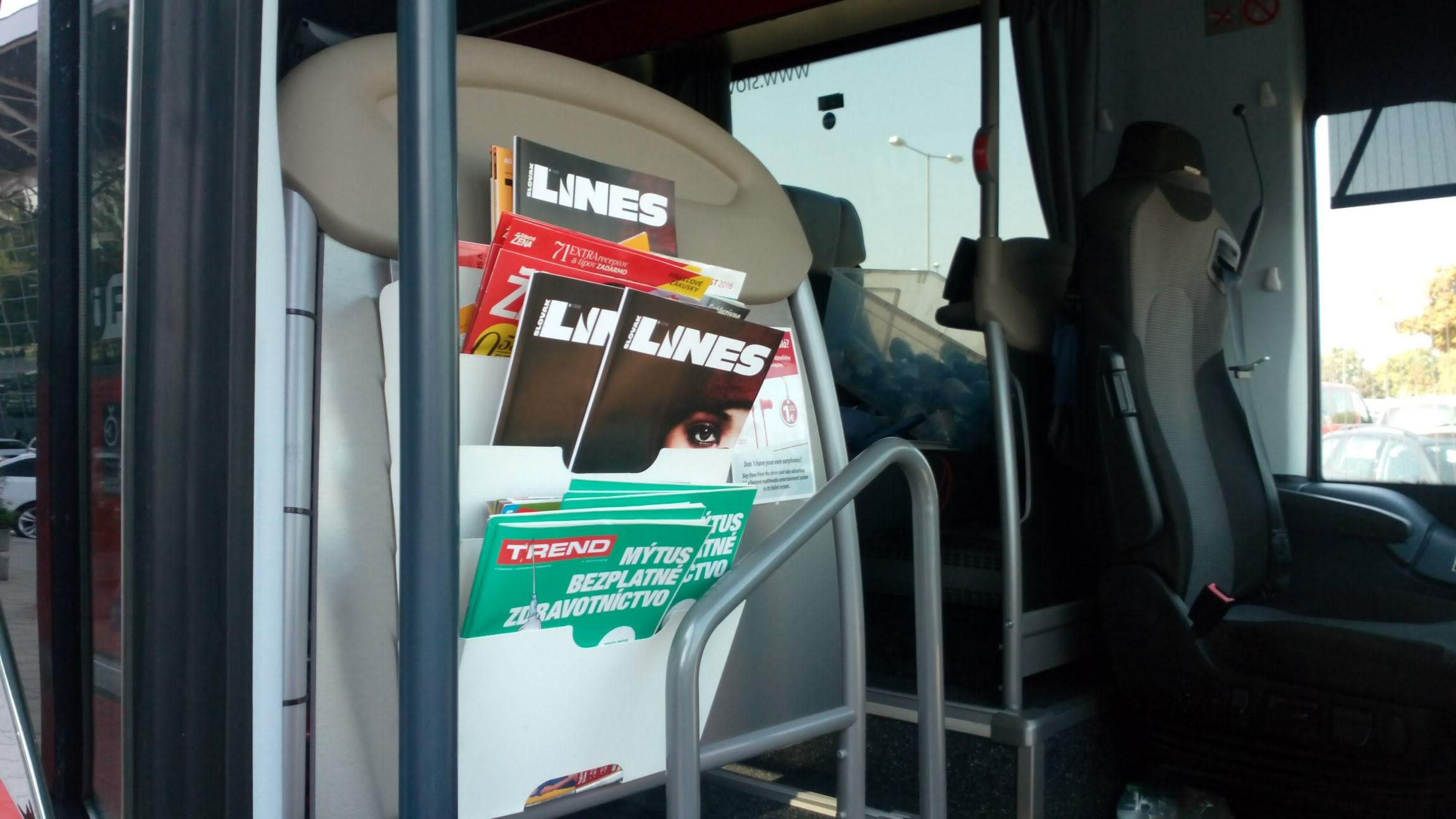 In Drive magazin Slovak Lines